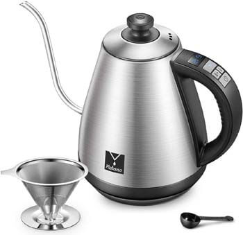 9. Electric Gooseneck Kettle with Variable Temperature Control
