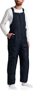 8. CHEROKEE Men's Insulated Snow Bib Ski Overalls (Plus Size Avail)