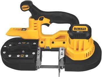 9. DEWALT 20V MAX Portable Band Saw, Tool Only (DCS371B)