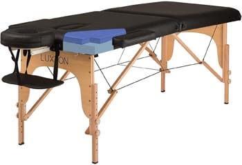 6. Luxton Home Premium Memory Foam Massage Table - Easy Set Up - Foldable & Portable