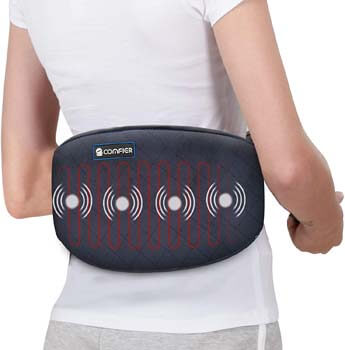 5. Comfier Heating Pad for Back Pain