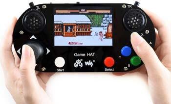9. Game HAT for Raspberry Pi A+/B+/2B/3B/3B+/Zero/Zero W Portable Game Console