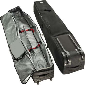 5. Athletico Rolling Double Ski Bag - Padded Ski Bag with Wheels for Air Travel