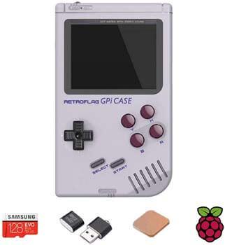 6. TAPDRA Raspberry Pi Zero Handheld Portable Game Console