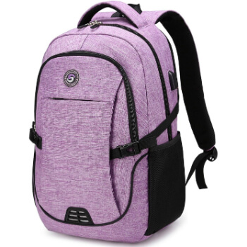 10. SHRRADOO Travel Laptop Backpack Fits 15.6 Inch Laptop