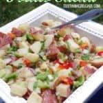 Italian Potato Salad by thefarmgirlgabs.com