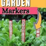 How to make your own garden markers