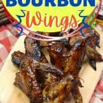 Wow your crowd at your next barbeque or summer picnic. These Grilled Bourbon Chicken Wings are a deliciously simple grilled chicken recipe.