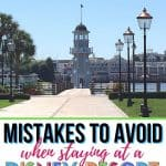 Planning to book a stay at a Walt Disney World hotel? Plan a magical Disney World vacation. Here are some Mistakes To Avoid When Staying At A Disney Resort. Following these Disney planning tips for a fun vacation. Here are some tips for staying on property at Walt Disney World.