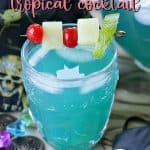 Wrecked Pirate summer cocktail pin