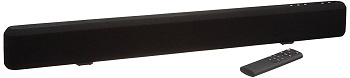 5. AmazonBasics 2.1 Channel Sound Bar with Subwoofer