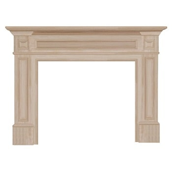 6. The Classique 56-Inch Fireplace Mantel.
