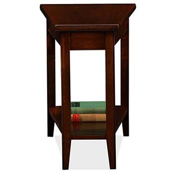 4. Leick Laurent Recliner Wedge End Table