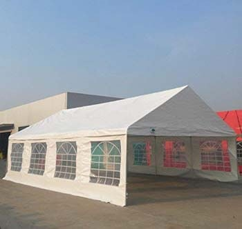 10: Shade Tree 20' x 30' Heavy Duty Event, Party, Wedding Tent, Canopy, Carport, with Sidewalls