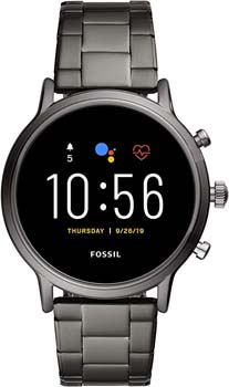 3. Fossil Gen 5 Carlyle Stainless Steel Touchscreen Smartwatch