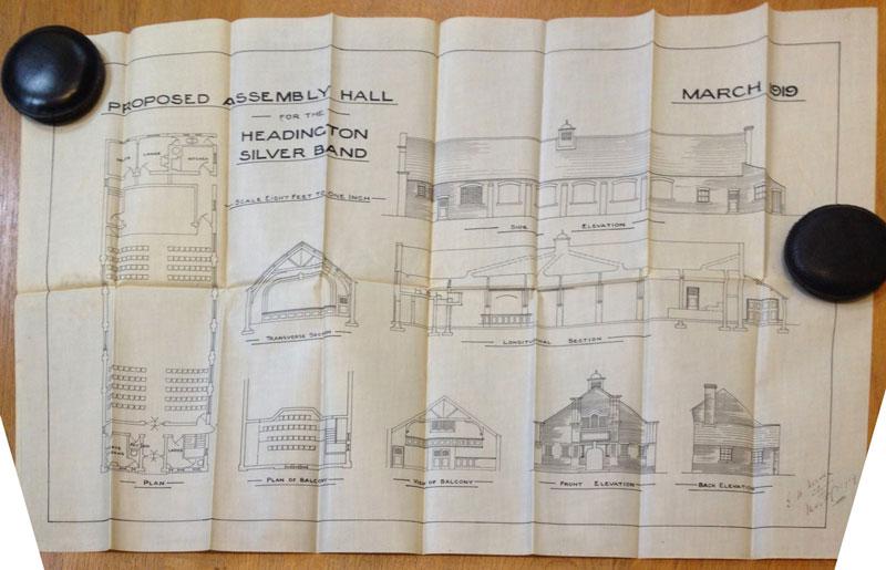 Band hall plans drawn up