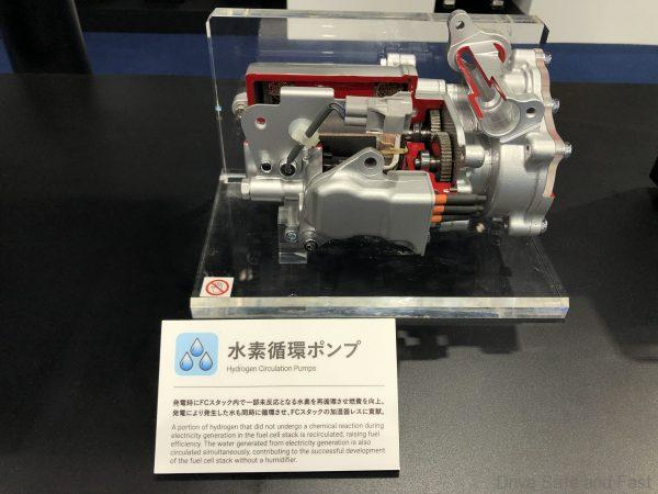 Toyota Hydrogen Fuel Cell technology