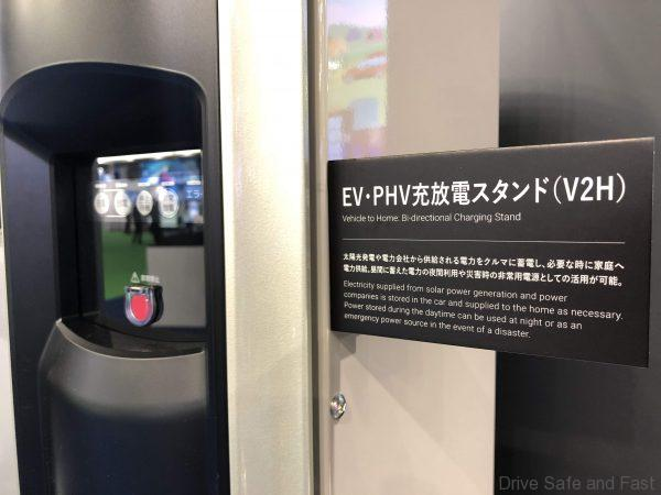 Toyota Hydrogen Fuel Cell bi-directional charging station