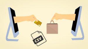 Il catalogo CSV per l'importazione dei prodotti sull'ecommerce