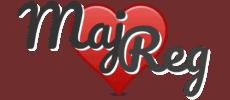 Maj loves Reg Logo