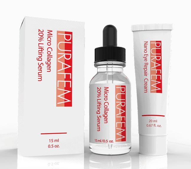 PURAFEM Anti Aging Serum & Under Eye Argireline Cream