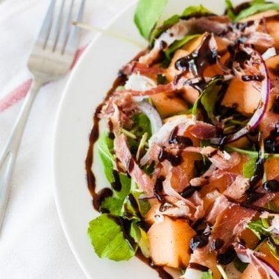 Melon Prosciutto Salad