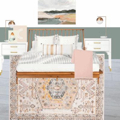 Tween Girl Bedroom Design Plan