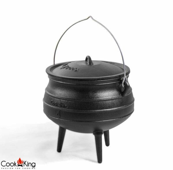 Afrikaanse kookpot gietijzer/emaille – Afrikaanse kookpot gietijzer/emaille 6L