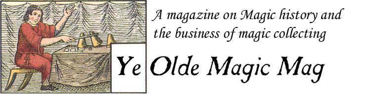 Ye Olde Magic Mag