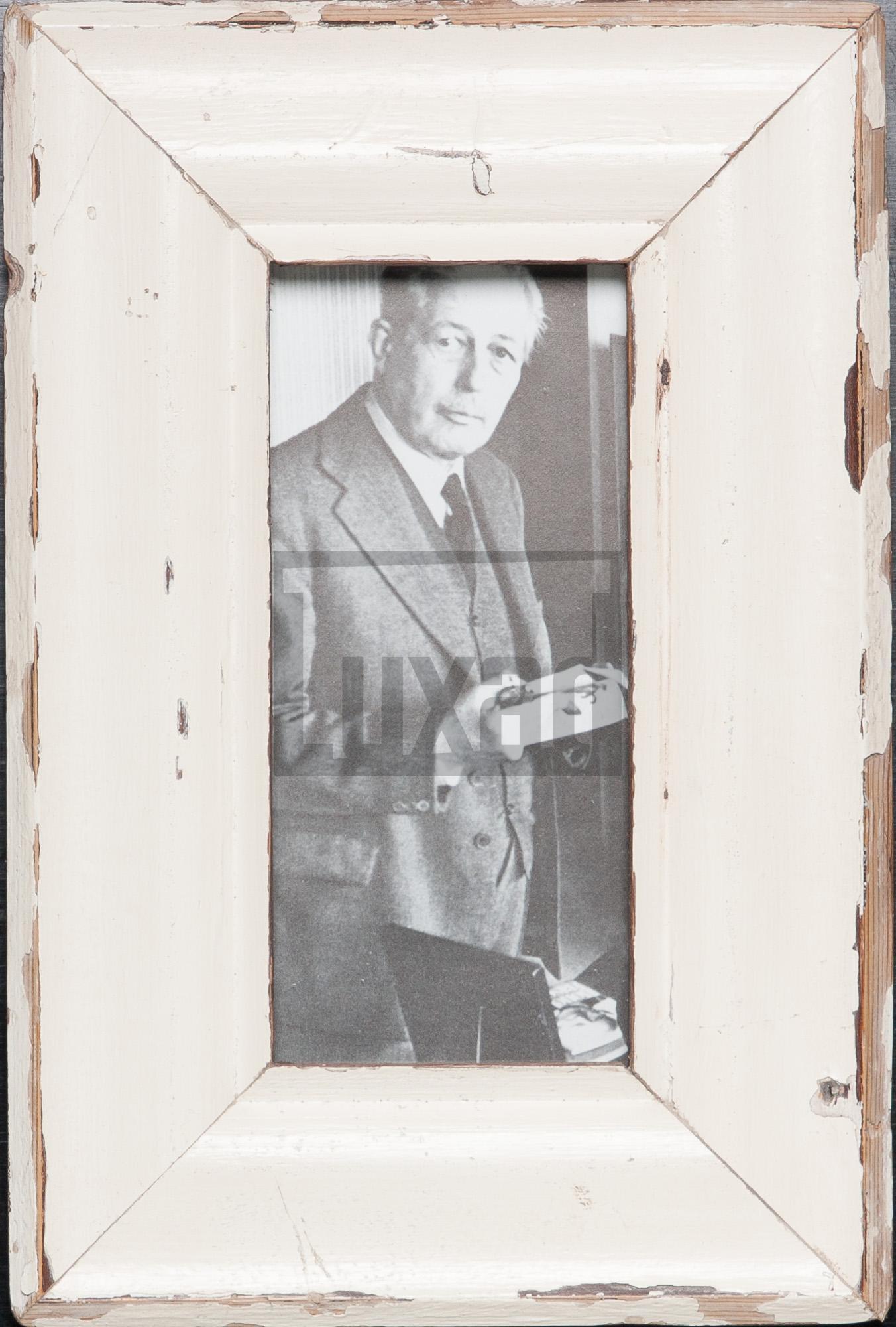 Panorama-Bilderrahmen aus altem Holz für Panoramafotos