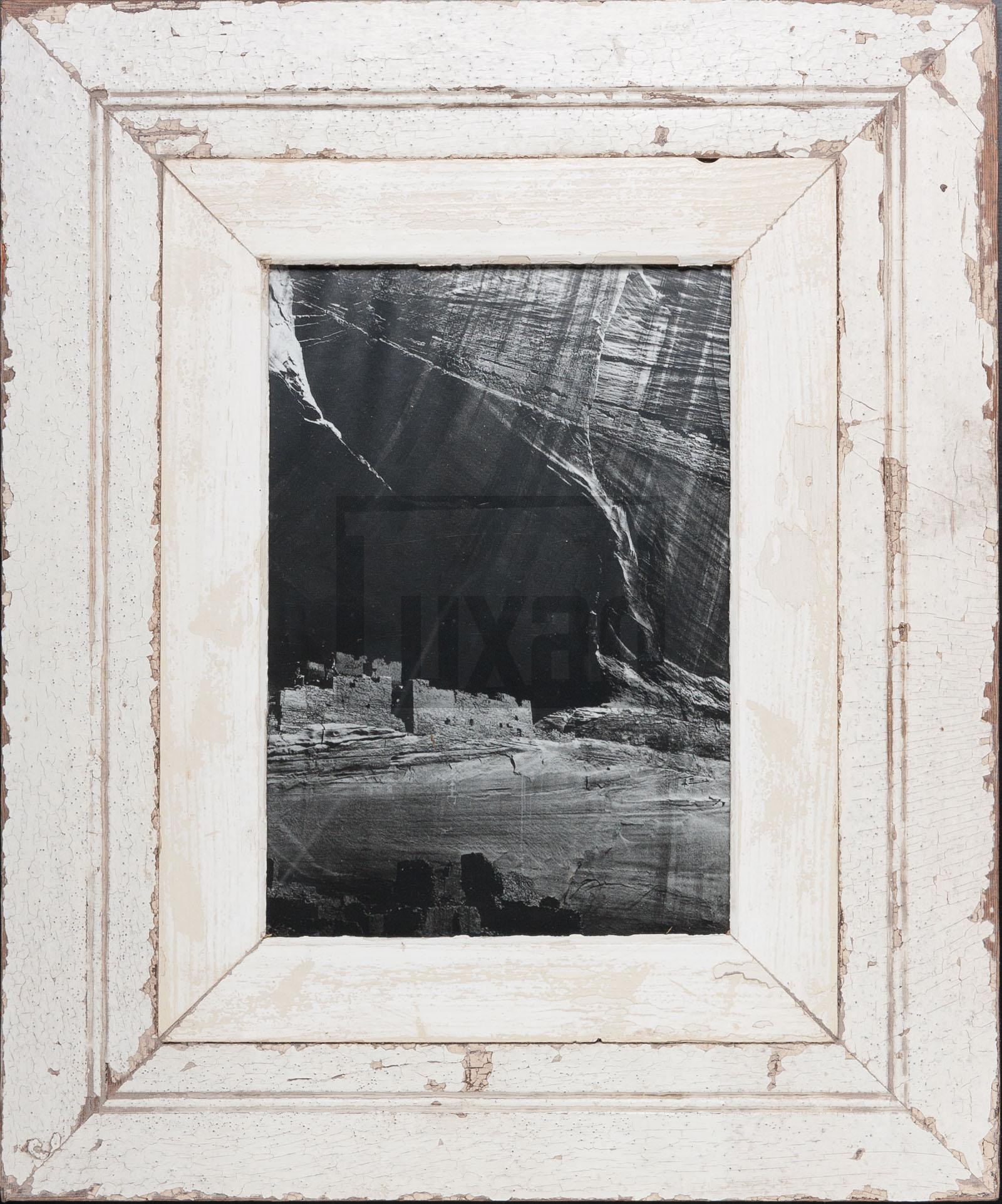Wechselrahmen aus alten, breiten Holzleisten von der Luna Design Company