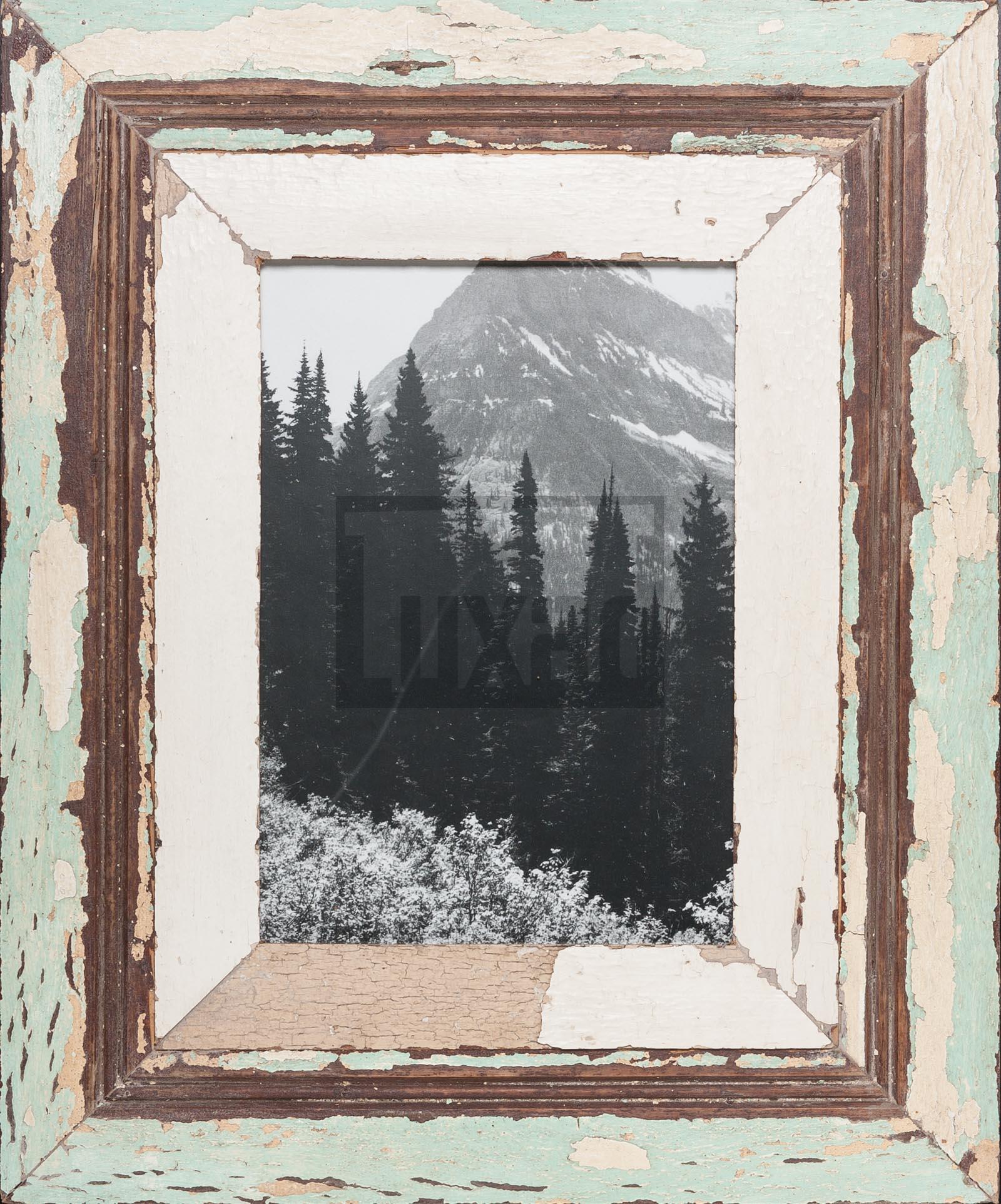 Vintage-Bilderrahmen mit breitem Rand für ca. 23 x 32 cm Bildformat