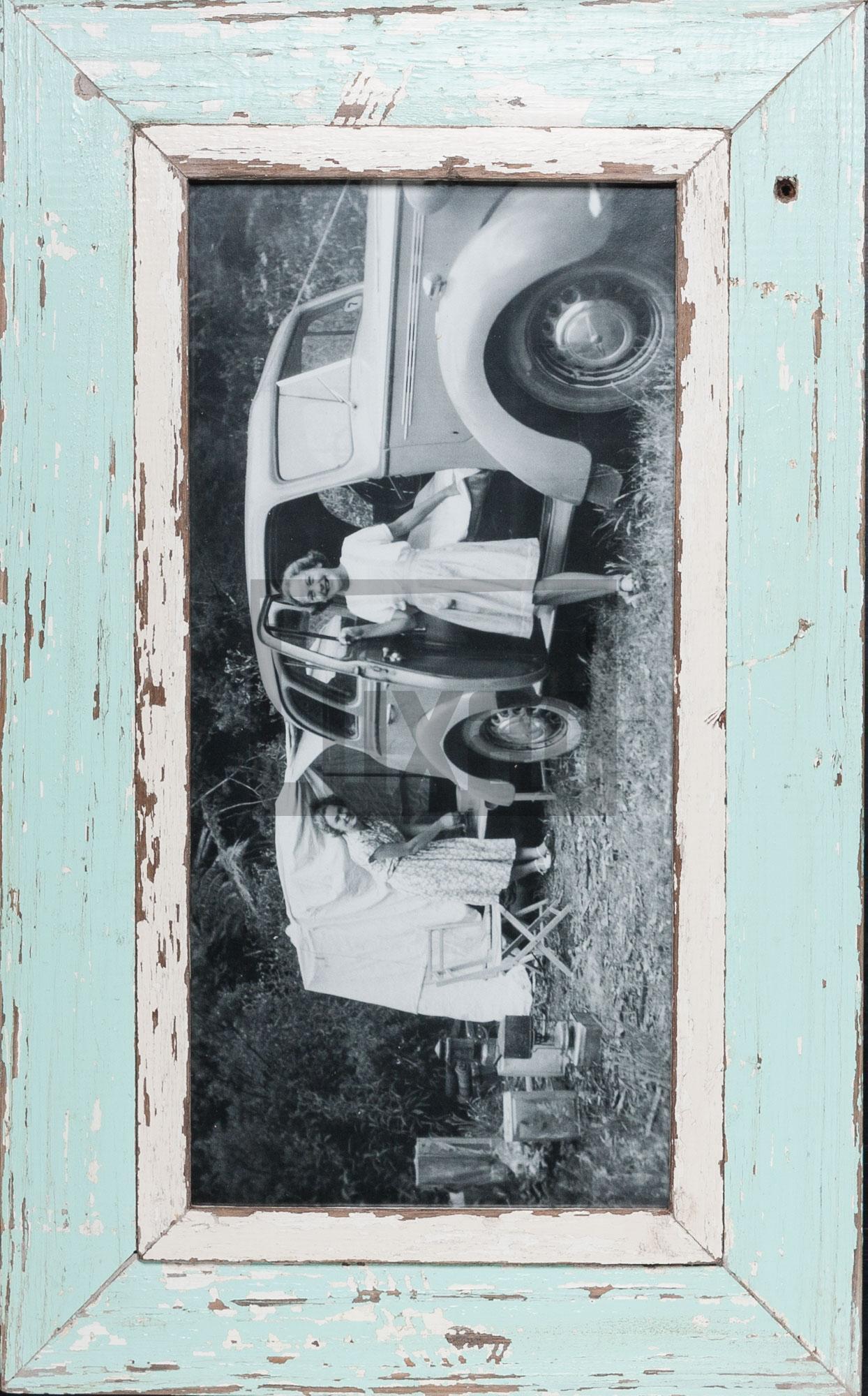 Panorama-Fotorahmen aus Recyclingholz für dein Lieblingsfoto