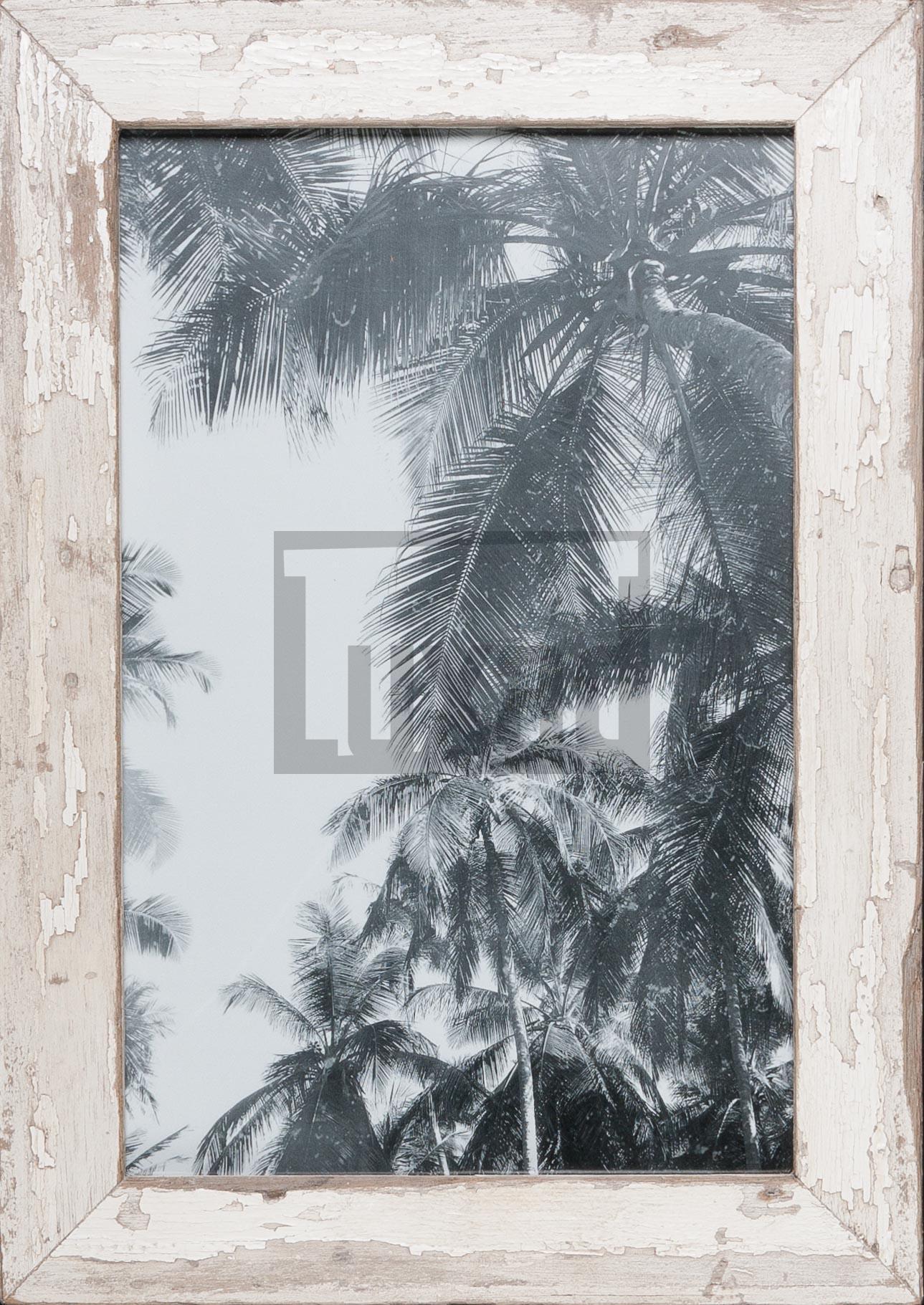 Vintage-Bilderrahmen aus altem Holz für Fotos 25 x 38 cm