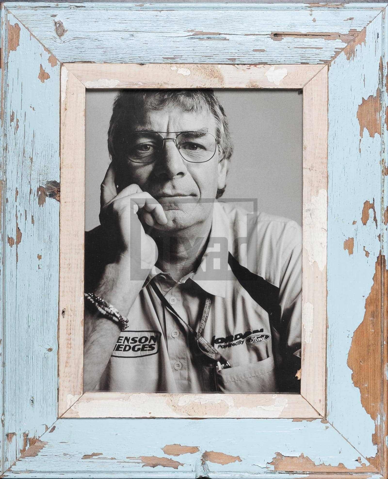 Bilderrahmen aus recyceltem Holz für ca. 21 x 29,7 cm große Fotos
