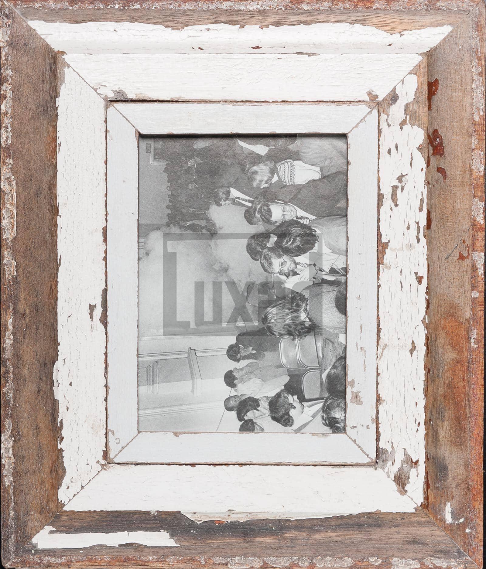 Vintage-Bilderrahmen mit breitem Holzrand aus Kapstadt