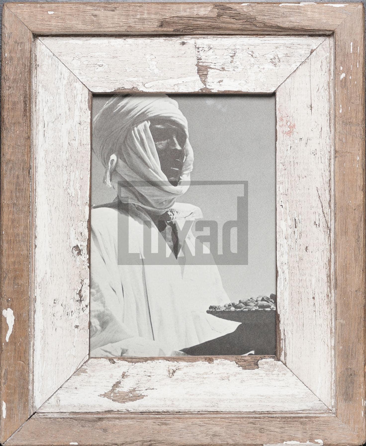 Vintage-Bilderrahmen aus altem Holz für ca. 14,8 x 21 cm