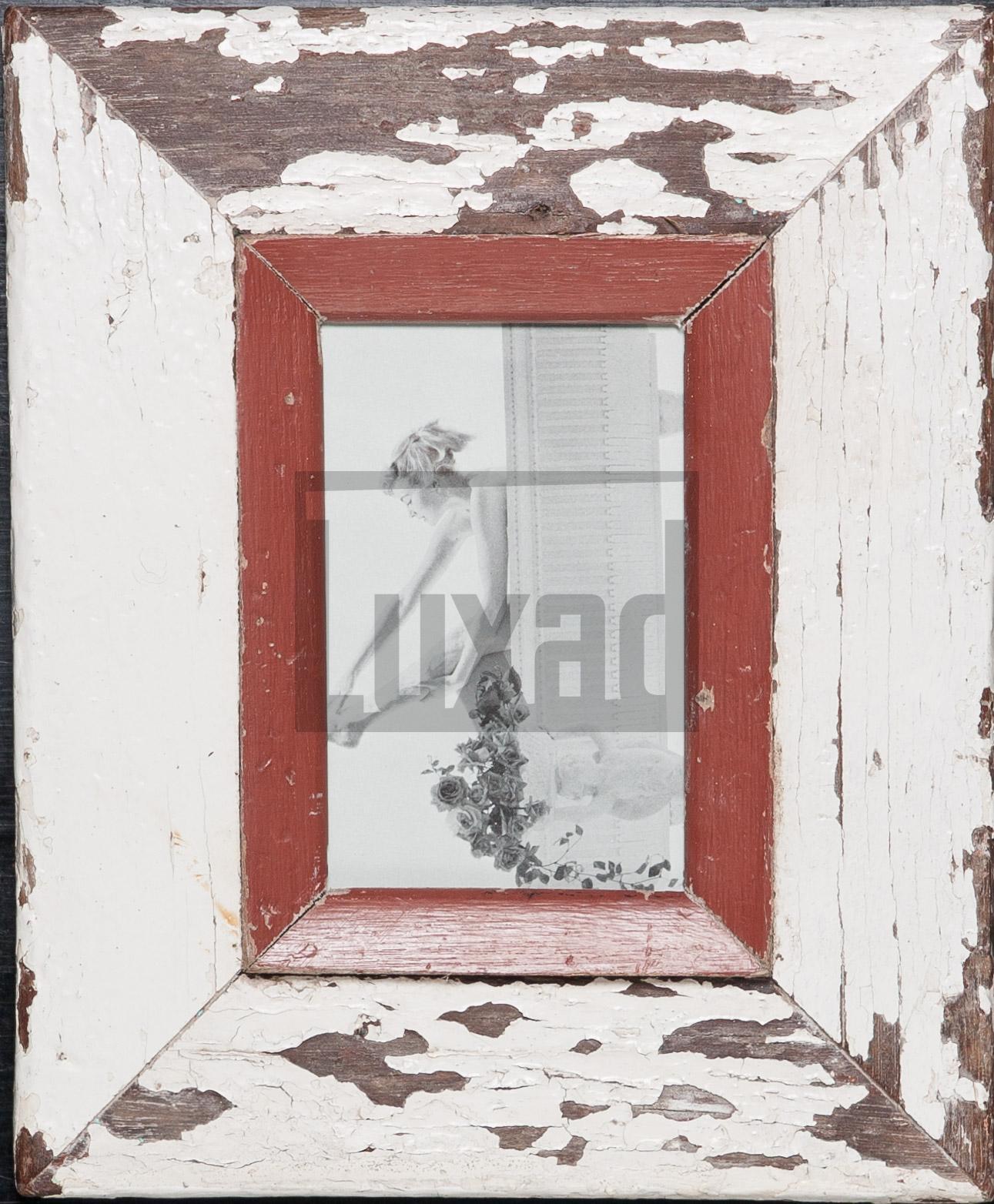Bilderrahmen aus recyceltem Holz von der Luna Design Company