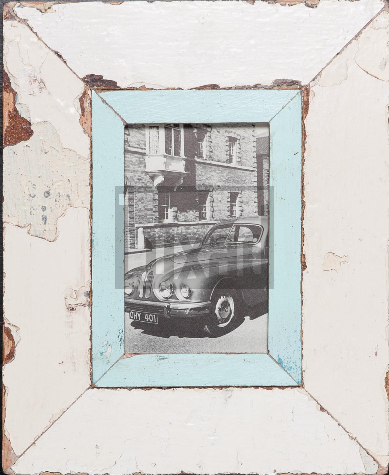 Vintage-Bilderrahmen für Postkarten