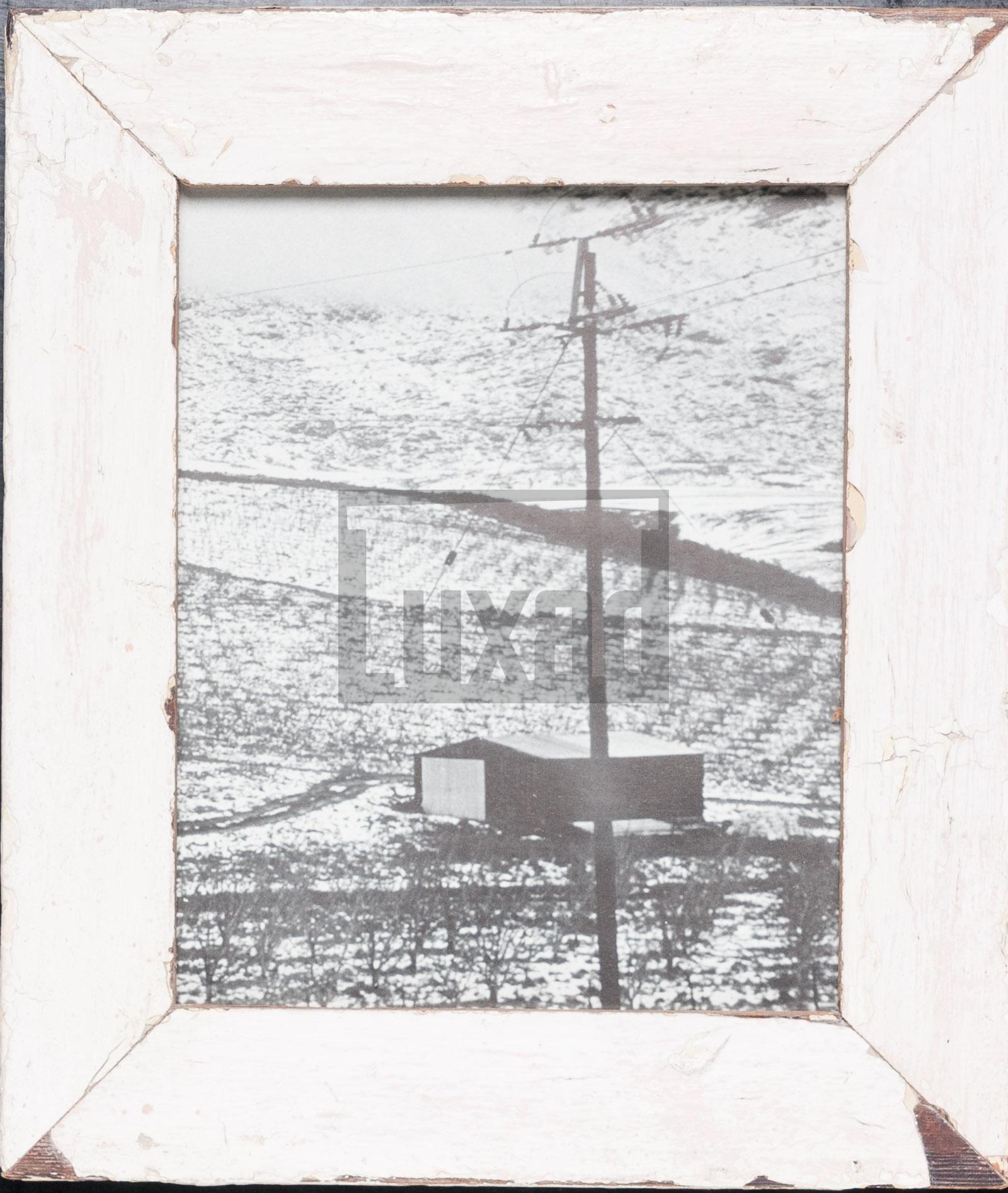 Vintage-Fotorahmen aus recyceltem Holz aus Südafrika