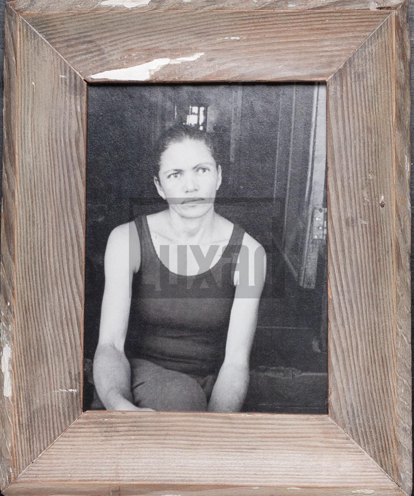 Altholz-Bilderrahmen für 15 x 20 cm große Fotos