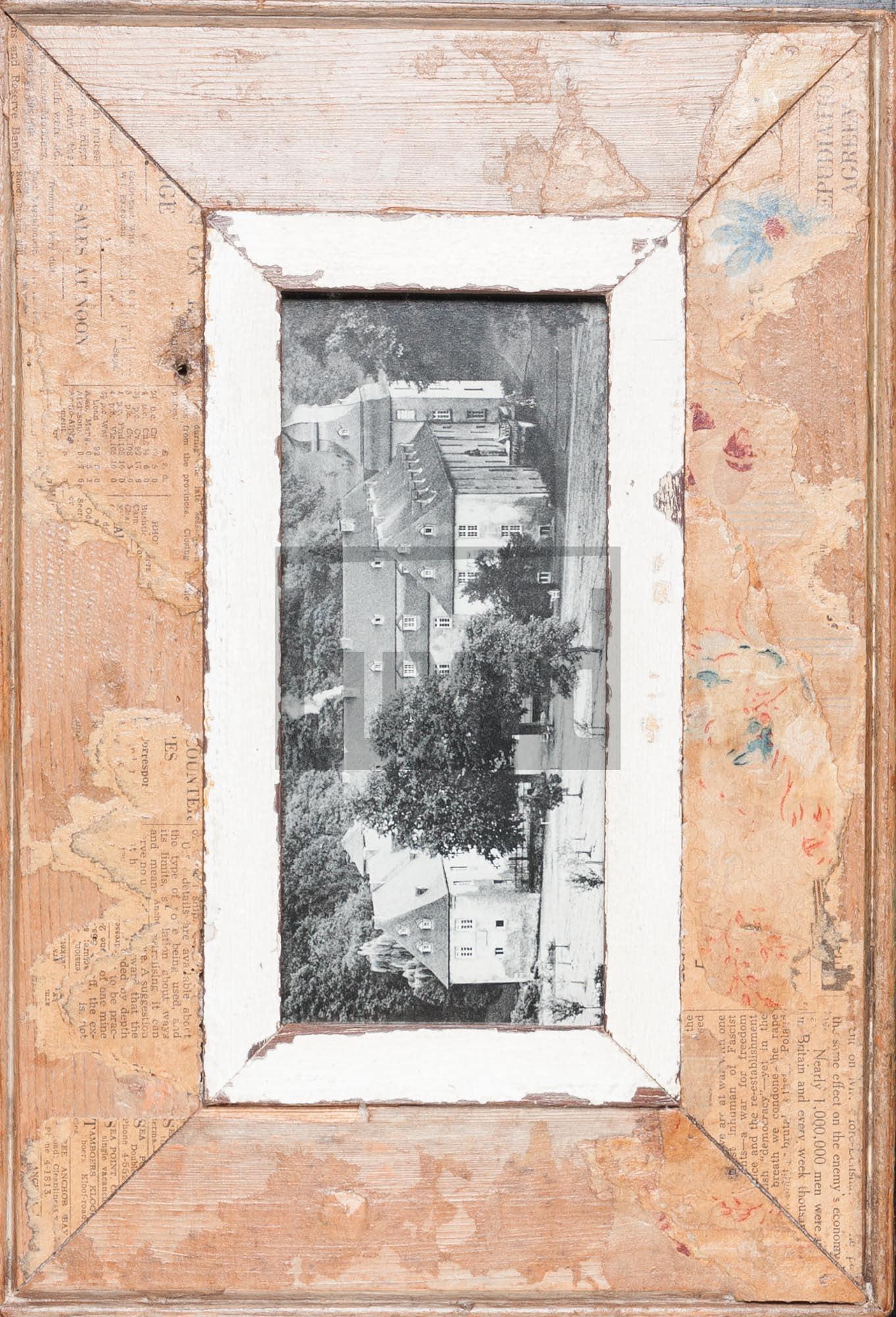 Panorama-Bilderrahmen aus altem Holz für Panoramen 1:2