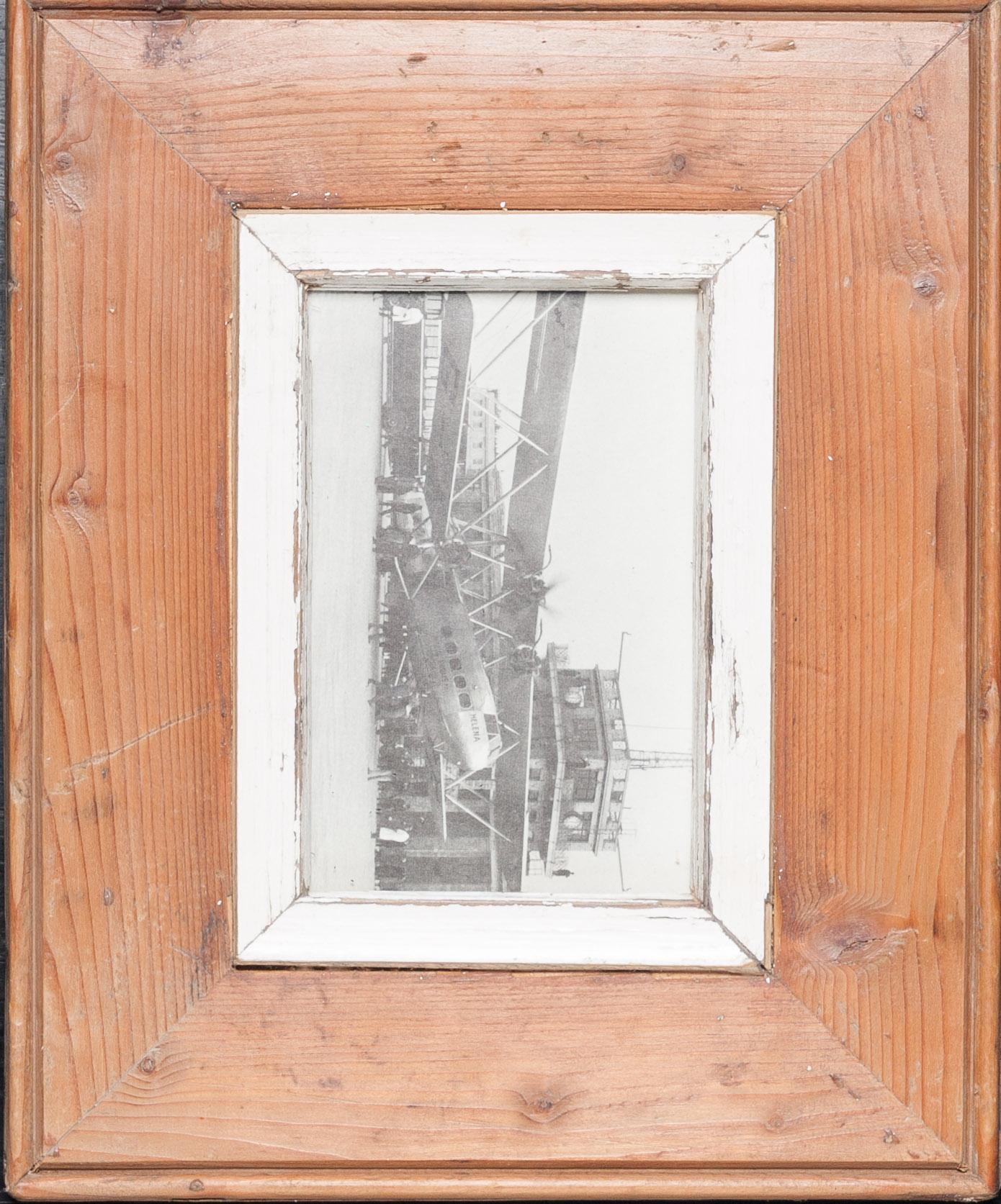Holzrahmen für kleine Fotos