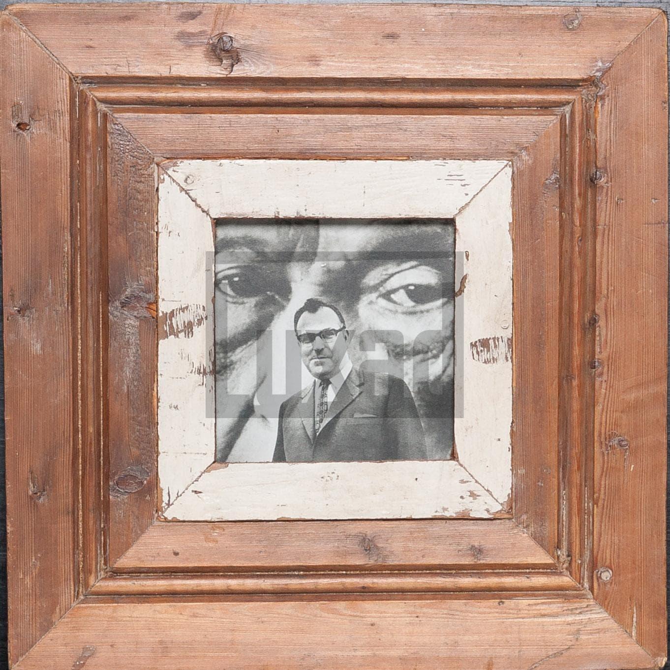 Quadratischer Vintage-Bilderrahmen für dein Lieblingsfoto