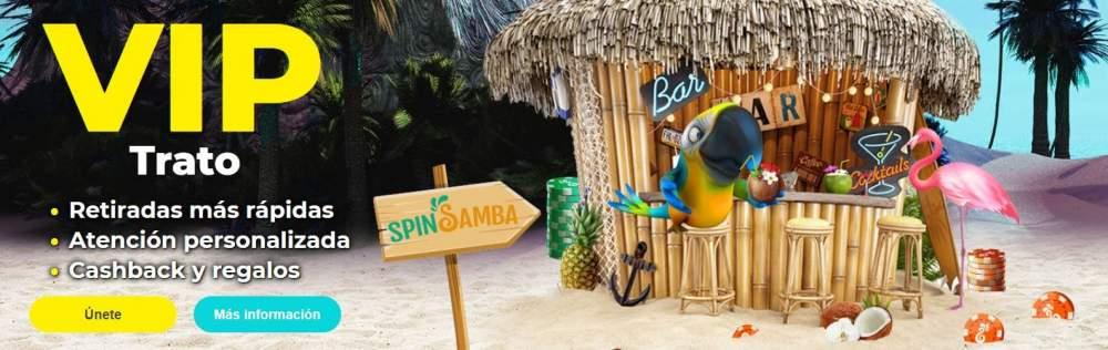 SpinSamba VIP