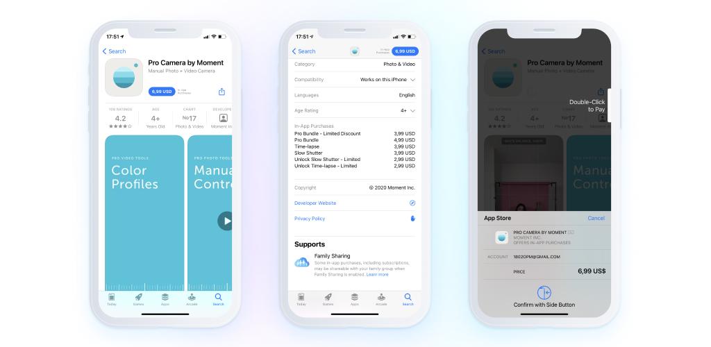 paymium app - screenshots - - in-app purchases