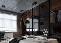 Натяжные потолки в стиле лофт 2