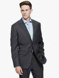 M&s Collection Luxury Charcoal Regular Fit Suit