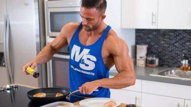 was zu essen, um Muskelmasse zu gewinnen