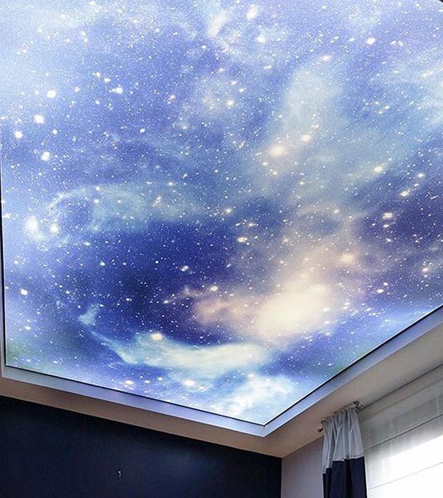 Цены натяжных потолков звездное небо 5